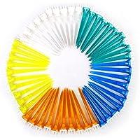 ポータブルで実用的 50個の78ミリメートルプラスチック製のゴルフTEESのクラウンシェイプのゴルフティーネイル - 混合色
