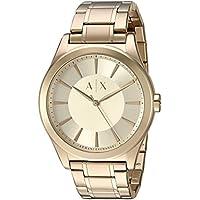 Armani Exchange Men's AX2321 Year-Round Analog Quartz Gold Watch