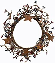 "CWI Gifts 4-8"" Country Mix Pip Ring with Rusty"