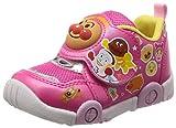 [アンパンマン] 運動靴 マジック ゆったり 軽量 抗菌防臭 キッズ APM C147 ピンク 14 cm 2E