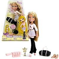 MGA EntertainmentブラッツPlay Sportzシリーズ10インチ人形 – Dancer Fiannaでダンス衣装、イヤリング、Extraのフィートのペア、ダッフルバッグ、Trophy and Hairbrush