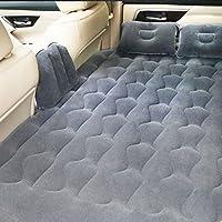 PovKeever 車中泊用 マット エアーマット エアクッション エアーベッド 車用エアーベッド 子供保護サイド キャンプ用  後部座席用  簡易ベッド