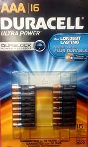 DURACELL 【デュラセル】 アルカリ 単四 乾電池 16本パック