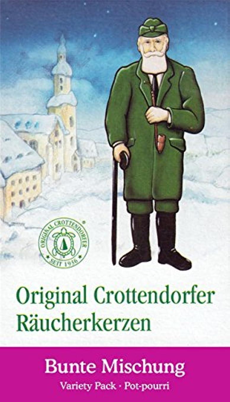 磁器液化するスリラーCrottendorfer Potpourri Variety PackクリスマスScents German Incense Cones
