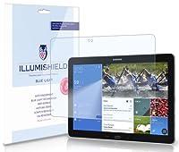 iLLumiShield–Samsung Galaxy Tab / Note Pro 12.2SM - t900/ sm-t905/ SM - p900/ sm-p905( HD )ブルーライトUVフィルタ画面プロテクタープレミアムHigh Definitionクリアフィルム/目の疲れ、眼精疲労–指紋防止/気泡防止/防止シールド–無料の生涯交換保証[ 1パック]–小売パッケージ