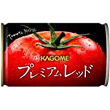 [Amazon限定ブランド] カゴメ プレミアムレッド 高リコピントマト50%使用(食塩無添加)お試しセット 160g…