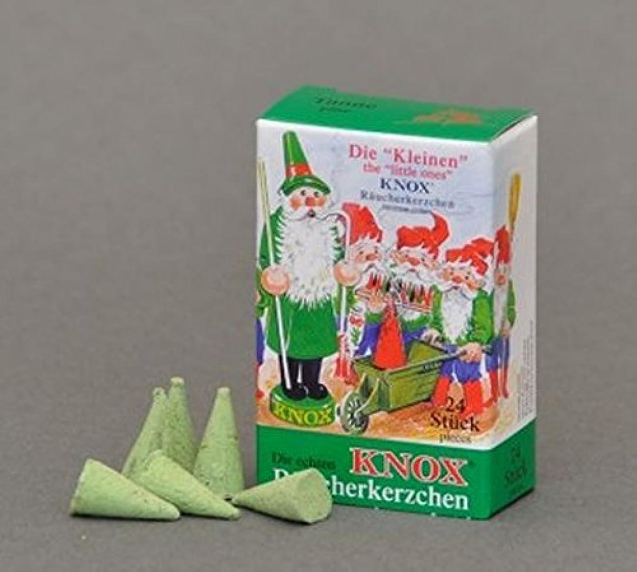 ほかに救援謎めいたKnox(ノックス) ミニ松の香り ドイツのお香コーン ドイツ製 クリスマスのスモーカー