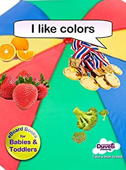 I Like Colors (I Like Reading) by [Publishing, Duvet]