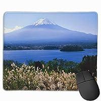 ピークマウントマジェスティックマウント富士 美しいマウスパッドゲームマウスパッド滑り止め25 X 30厚さと耐久性