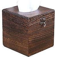 ティッシュボックス木製のリビングルーム紅茶テーブルオフィスポンピングペーパーボックス(21 * 11.2 * 10.5cmセンチメートル)