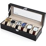 Readaeer® 腕時計収納ケース 腕時計収納ボックス コレクションケース 6本用