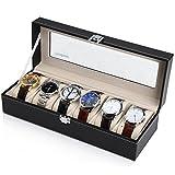 Readaeer 腕時計収納ケース 腕時計収納ボックス コレクションケース 6本用