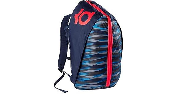 e114805ae4 Amazon.co.jp: Nike KD Max Air VIII Basketball Backpack バックパック Midnight  Navy Photo Blue Crimson  並行輸入品   スポーツ アウトドア