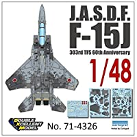 DXMデカール DXM-71-4326 1/48 航空自衛隊 F-15J イーグル 60周年記念 デジタル迷彩