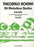 BOEHM - Estudios Melodicos (24) Op.37 para Flauta (Wummer)