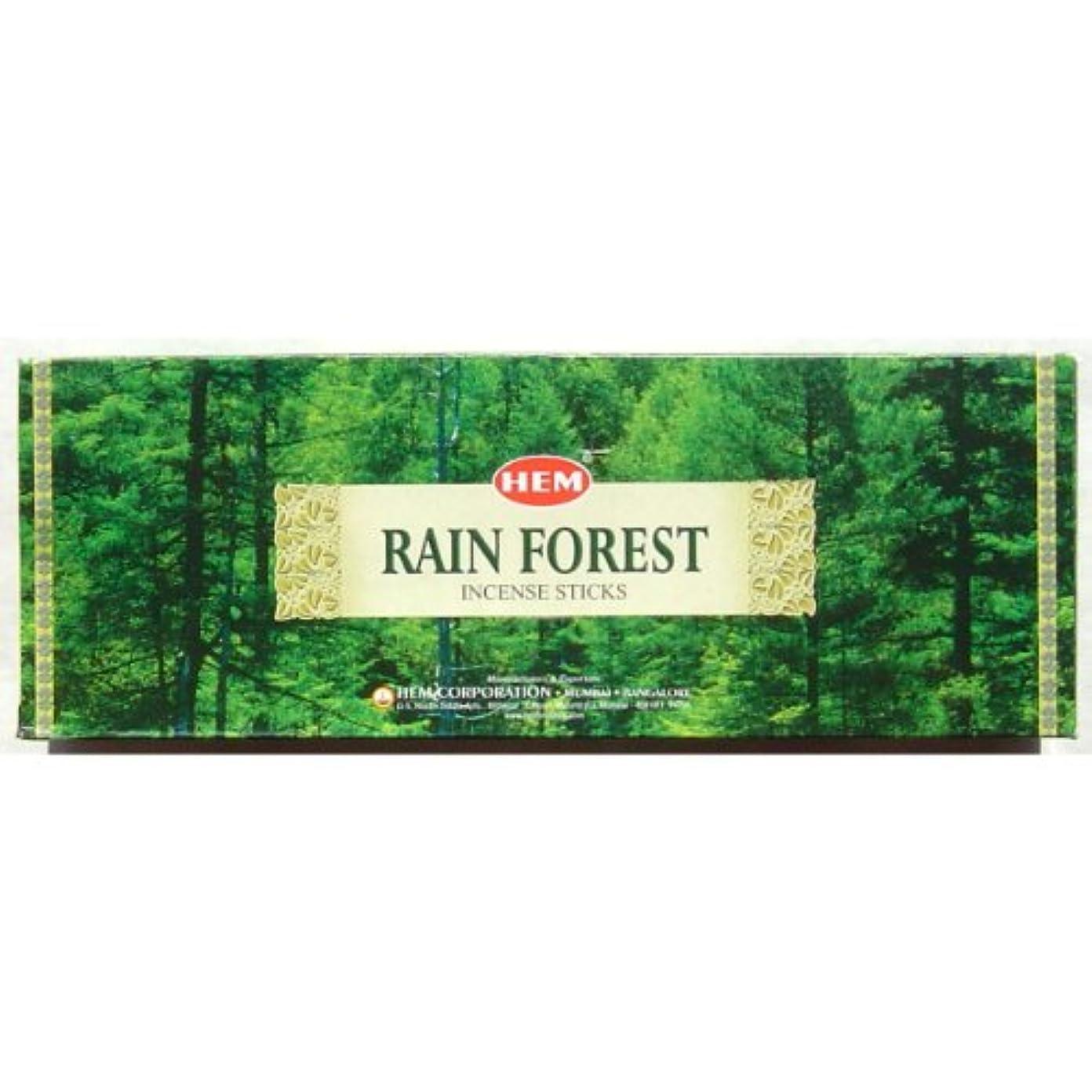 ポータブルアッティカス危険なHem六角 – Rain Forest – 20スティック六角チューブ – 4のセットで販売六角チューブ