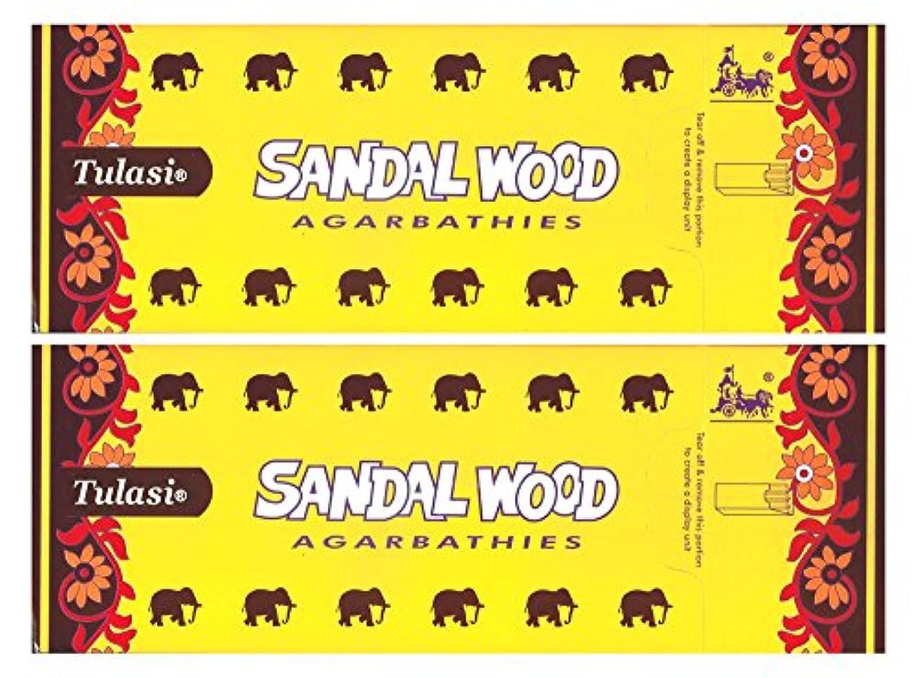 宿題カートリッジ適応するトゥラシ サンダルウッド 12個セット