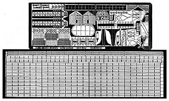 トムスモデル 1/350 艦船用エッチング 独海軍 戦艦 ビスマルク級用 TM3512