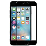 iphone6s フィルム,【PrimeTime】3D強化ガラスフィルム 炭素繊維 アイホン6s 全面保護フィルム 赤 高透過率 自動吸着 硬度9H 耐衝撃 飛散防止 防指紋 気泡ゼロ (iphone6 ブラック)