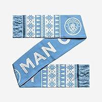 マンチェスターシティFCフェアアイルクリスマススカーフ