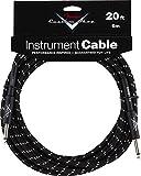 Fender ケーブル Fender® Custom Shop Cable, 20', Black