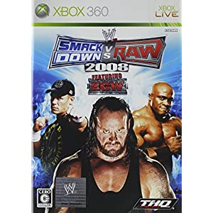WWE 2008 SmackDown vs Raw - Xbox360