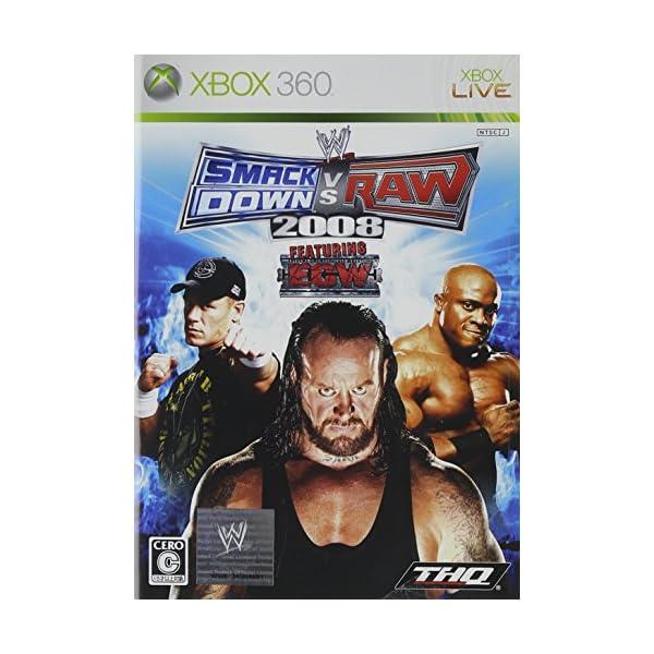 WWE 2008 SmackDown vs Ra...の商品画像