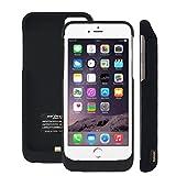 ハヤブサモバイル iPhone7 / iPhone8 大容量5500mAh モバイルバッテリー内蔵ケース ケース型モバイルバッテリー(ツヤ消黒)