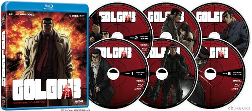 Golgo 13: Complete Collection [Blu-ray] [Import]