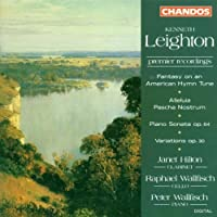 Kenneth Leighton: Fantasy on an American Hymn Tune, Op. 70 / Alleluia Pascha Nostrum, Op. 85 / Variations for Piano, Op. 30 / Sonata for Piano, Op. 64 by Leighton