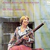 Boismortier: Five Sonatas for Bassoon & Continuo by Kim Walker
