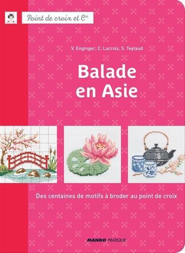 MANGO <Balade en Asie> クロスステッチ図案集-フランス語