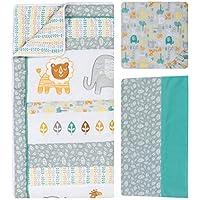 Trend Lab 6 Piece Crib Bedding Set Lullaby Jungle [並行輸入品]