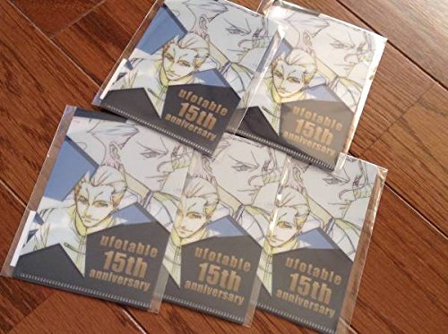 Fate/Zero ufotable15周年 名刺クリアファイル ランサー陣営 5枚セット