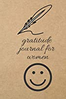 Gratitude Journal for Women: Blank Line Journal
