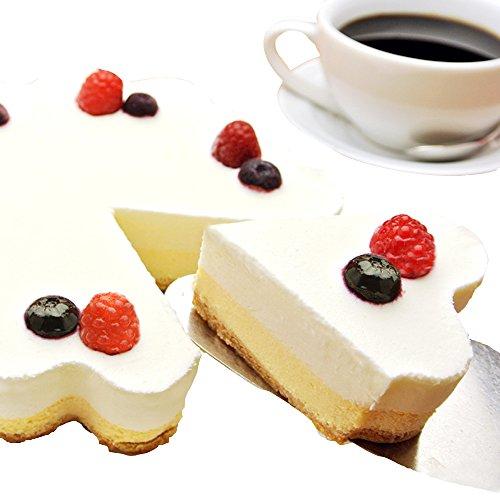 天使のおくりもの ホールケーキ 幸せのダブルチーズケーキ