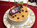 【クリスマスケーキ】 和栗のモンブラン風クリスマス ショートケーキ 4号 ホール 3-4人分【12/22着】神戸スイーツ(お取り寄せグルメ 人気 有名)
