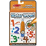 Melissa & Doug On The Go Water Wow! Numbers Activity Book with 4 Practice Boards and Water Pen