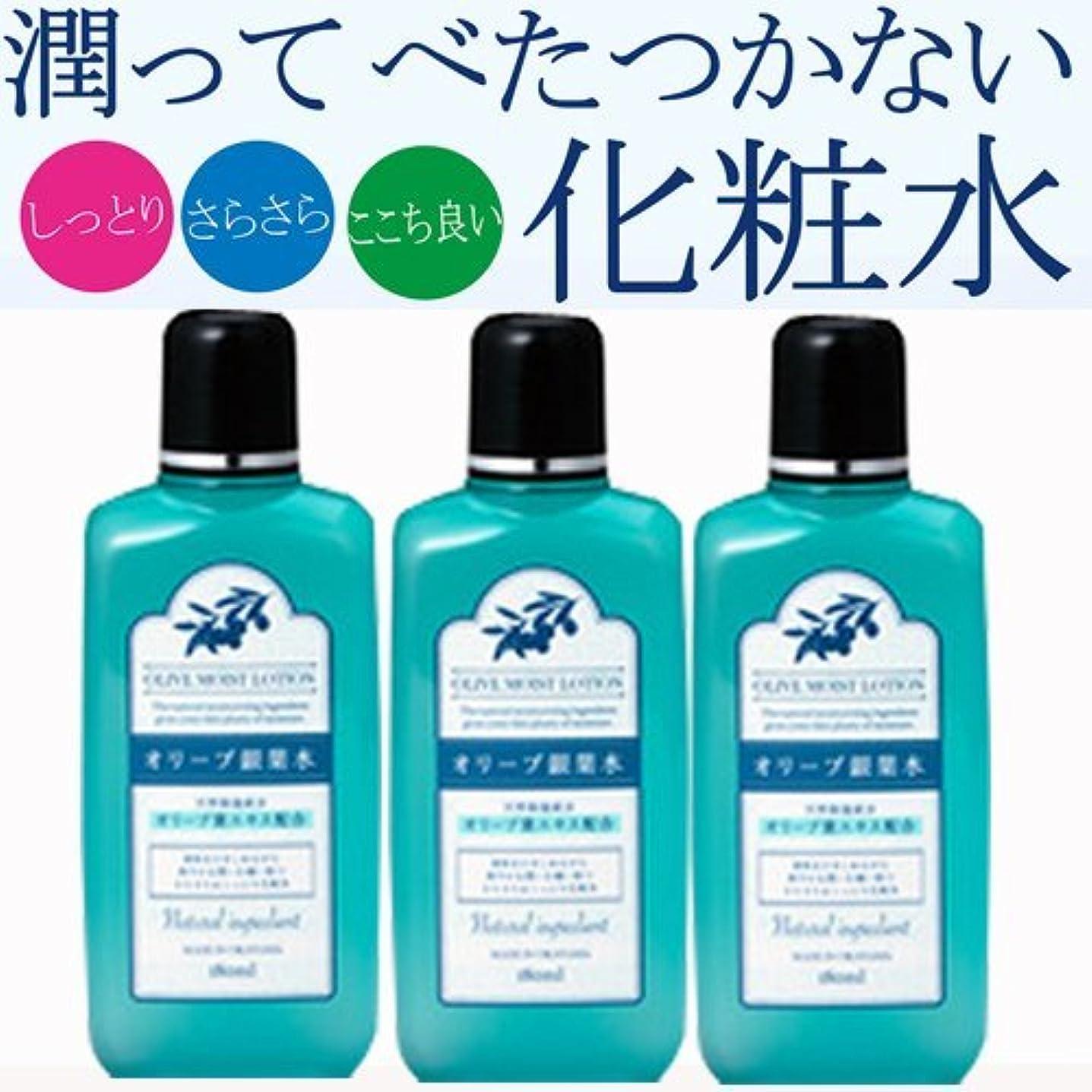 事前調子疑わしい【3個】日本オリーブ オリーブマノン リーフローション(銀葉水) 180ml x3個(4965363005917-3)