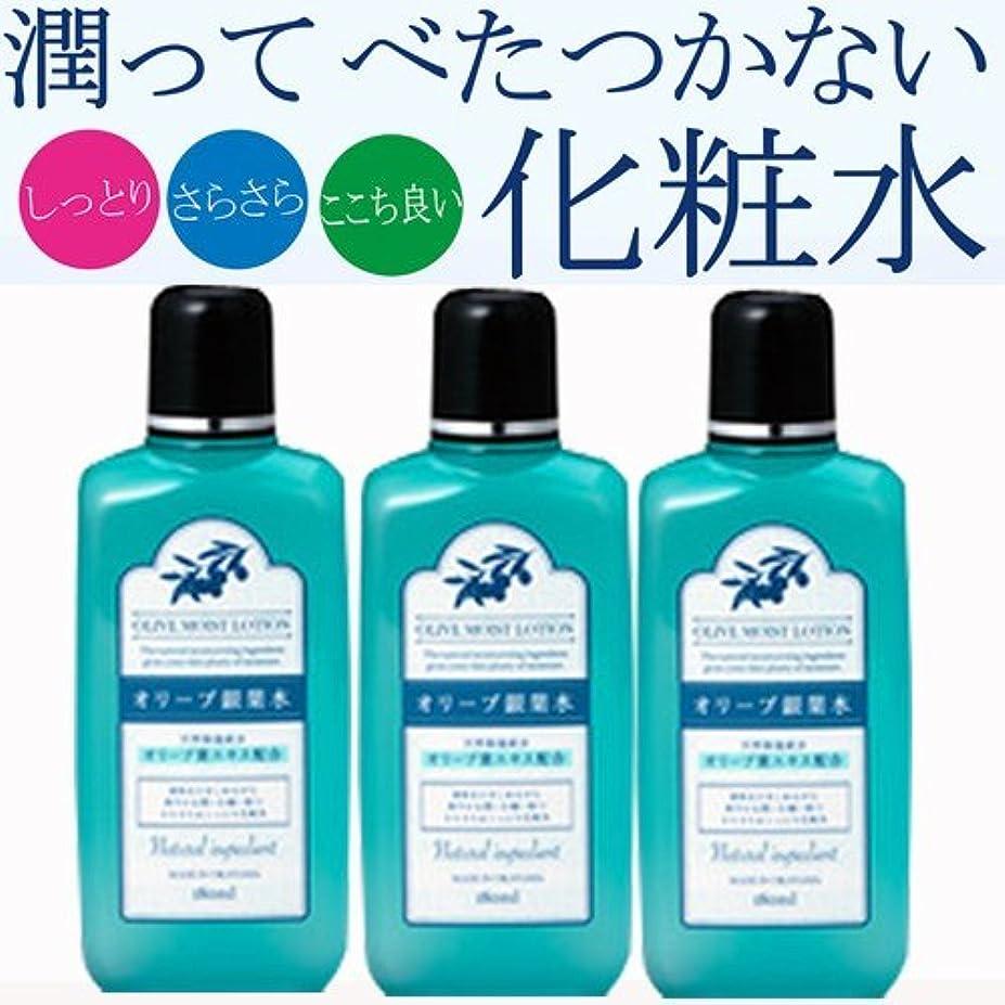 孤独冷える困難【3個】日本オリーブ オリーブマノン リーフローション(銀葉水) 180ml x3個(4965363005917-3)