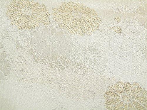 礼装用 正絹 手組紐 織細金銀糸使用 帯締め 縫取り 帯揚げ 金銀扇子 亀 4点セット 留袖用 桐箱入り (饅頭菊(t-7))