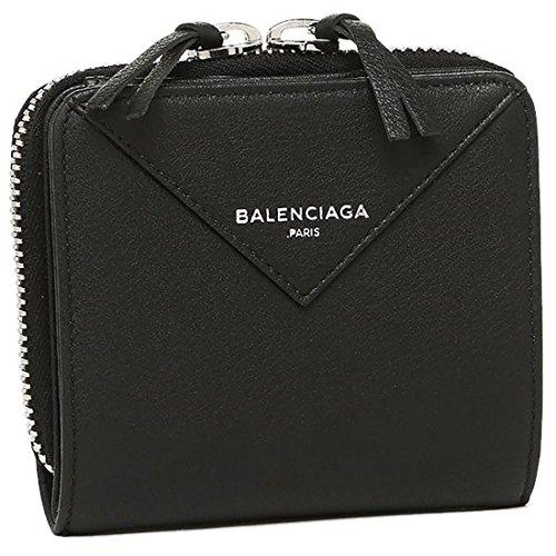 [バレンシアガ] 折財布 BALENCIAGA 371662 DLQ0N 1000 ブラック [並行輸入品]