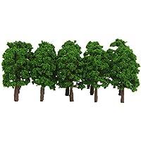 【ノーブランド品】樹木  モデルツリー 20本 鉄道模型 ジオラマ 箱庭