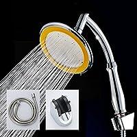 レインシャワーパネルレインシャワーノズルヒーター付きステンレス製トップスプレー水加圧さシャワー (色 : B)