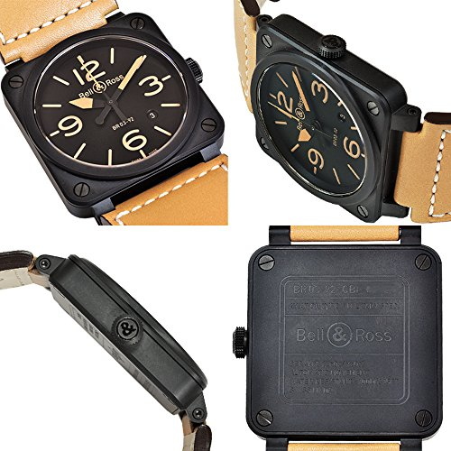 BELL&ROSS ベル&ロス 腕時計 BR03-92 ヘリテージ 自動巻き メンズ 新品 並行輸入 [並行輸入品]