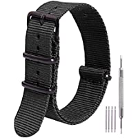 Ritche NATO Strap 16mm 18mm 20mm 22mm Nylon Watch Band