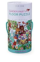 Crocodile Creek Garden Party Jigsaw Floor Puzzle [Floral] [並行輸入品]