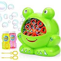 Frog自動バブルマシンBlowerメーカーパーティー夏アウトドアToy for Kids