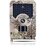 Waterproof HD 1080P Wildlife Camera, Night Vision Hunting Monitoring Camera Animal Trail Camera(C1)
