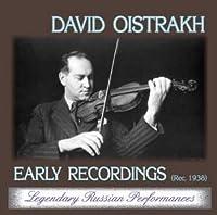 David Oistrakh, violin / Violin concertos J.S.Bach, L.V.Beethoven - Early Recordings 1938